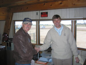 Dr. Bob and Terry Claussen, FAA