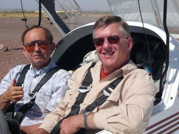 FAA Examiner and Terry Brandt